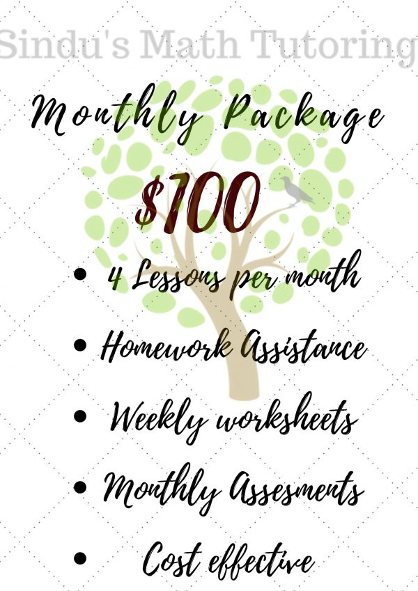 Tutoring Package
